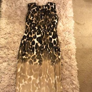 Calvin Klein Animal print sleeveless dress